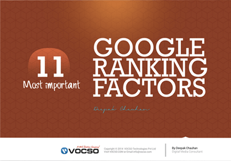 11 Most Important Google Ranking Factors
