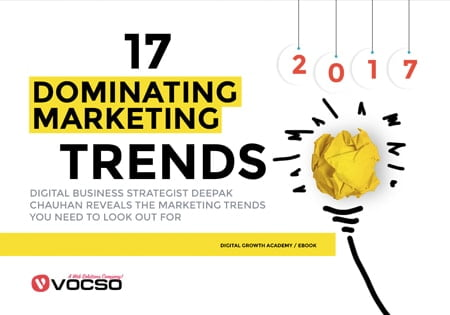 17 Dominating Marketing Trends  that pretty much define 2017